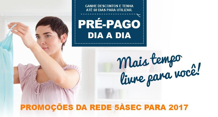 "Blog 5àsec - Conheça a nova Campanha da Rede 5àsec: ""Pré-Pago 5àsec"""