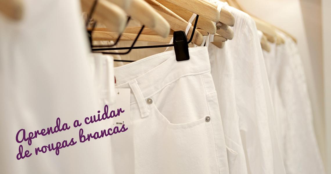 Blog 5àsec - Aprenda a cuidar de roupas brancas