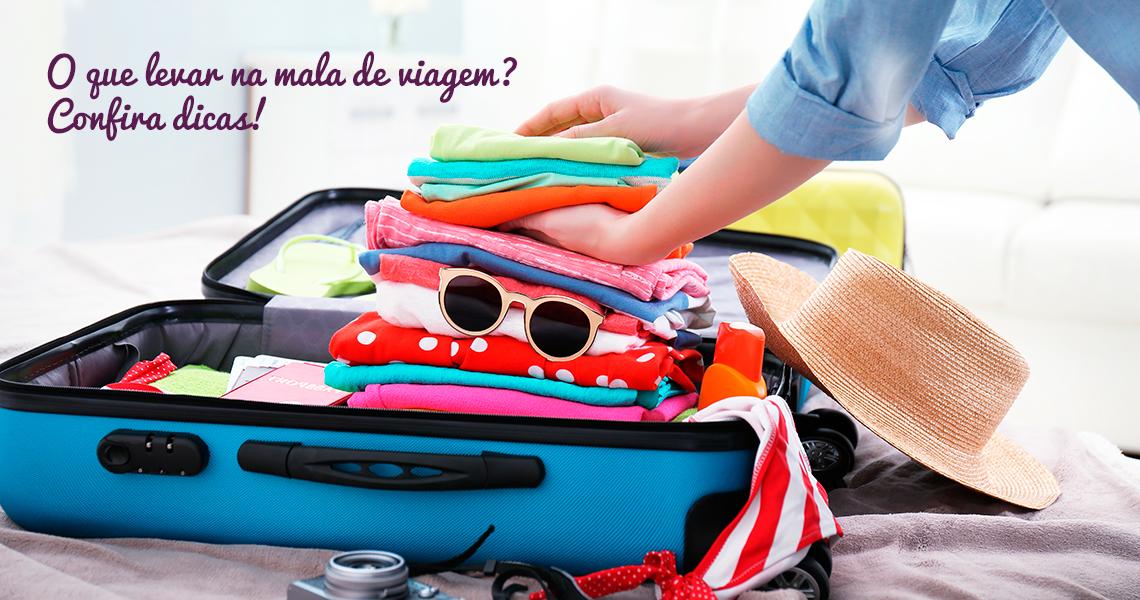 Blog 5àsec - O que levar na mala de viagem? Confira dicas!